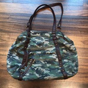 Handbags - Camo Canvas Purse